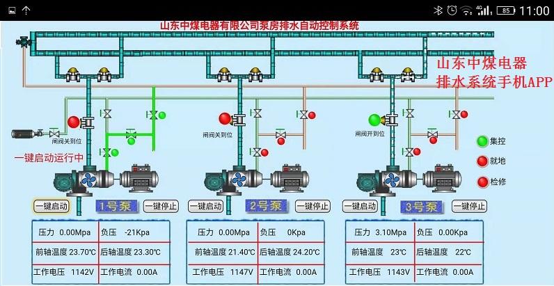 泵房排水无人值守系统手机APP